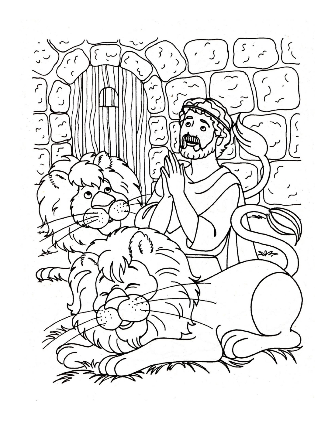 Lions coloring pictures - Find The Full Size Image Here